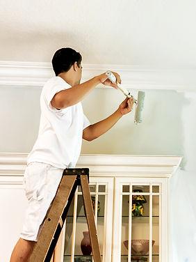 Pintando a parede