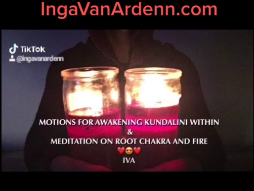MOTIONS FOR AWAKENING KUNDALINI WITHIN & MEDITATION ON ROOT CHAKRA AND THE FIRE