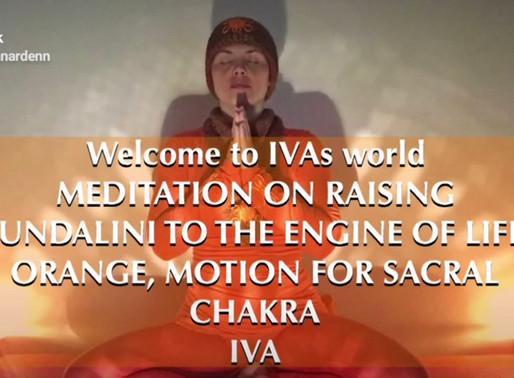 IVA Meditation on Rising Kundalini About Orange