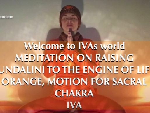 IVA Meditation on Rising Kundalini About Orange