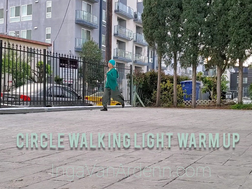 Circle Walking Light Warm Up