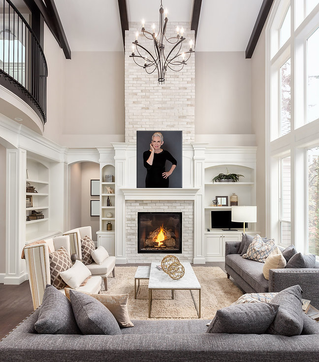 Gorgeous wall art of you!