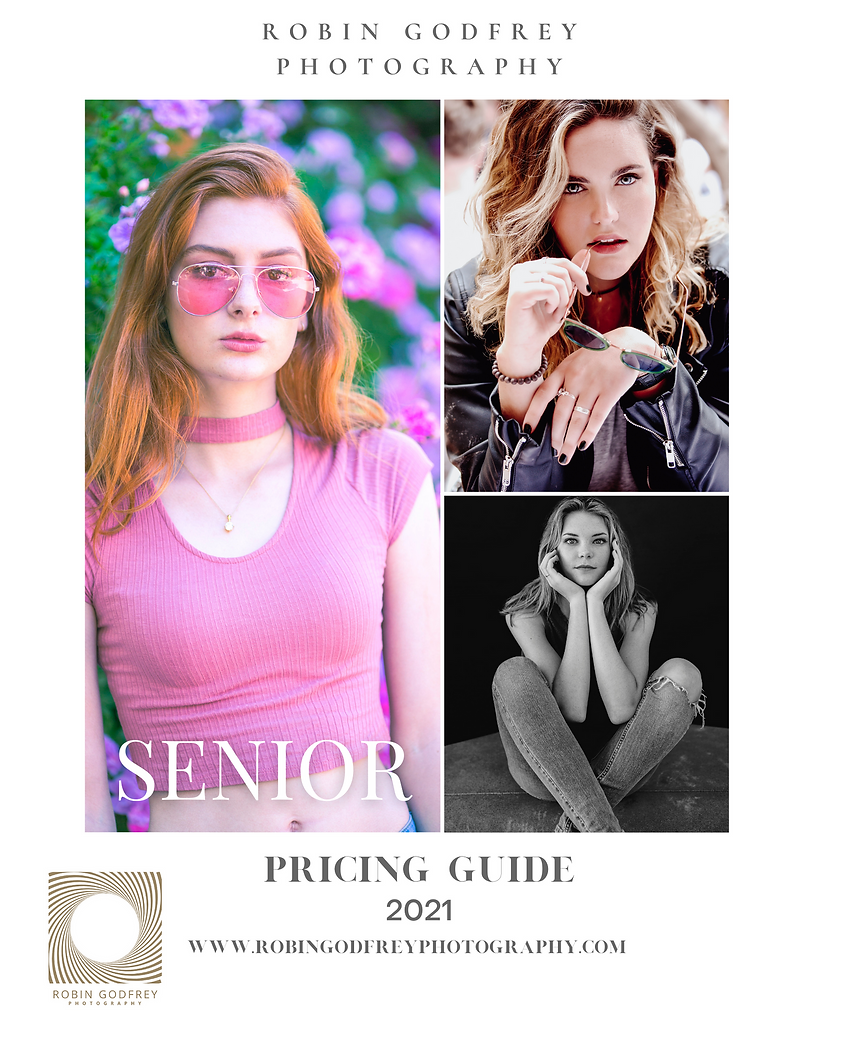 Senior Portrait Pricing Guide 2021