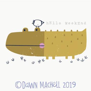 hello weekend croc dawnmachell.jpg