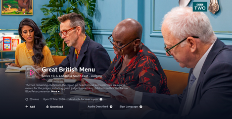 Great British Menu 2020 (Stylist)