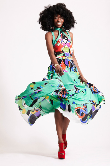 'Coming To England' Collection - (Fashion Designer)