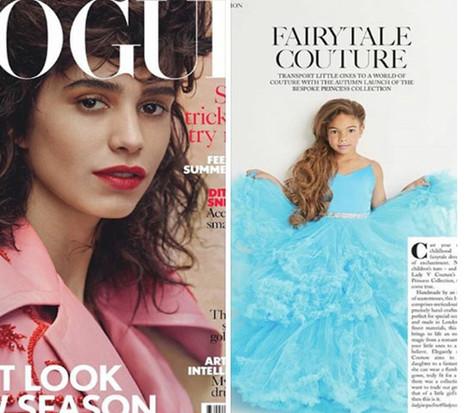 LVC dress featured in British Vogue August 2017