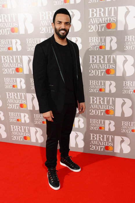 Craig David Brit Awards 2017
