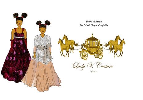 Shara Johnson Design - LVC Ss17 /18 - Title Page