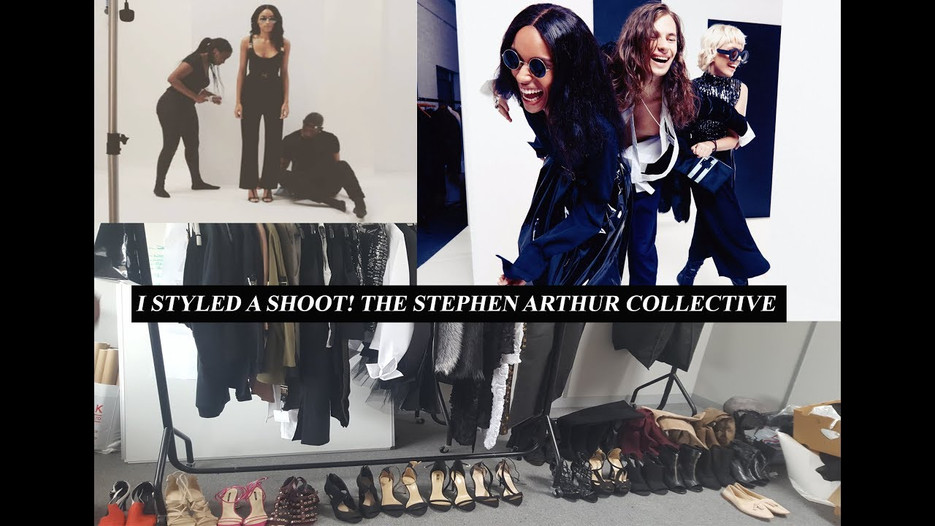 Styling the Stephen Arthur shoot video
