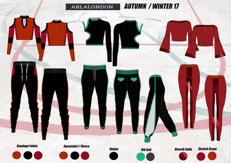 Shara Johnson Design - Abla London AW17 / Ss18 Range board 1