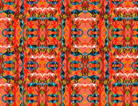 Shara Johnson Design - Sanavay Swimwear SS18 - 'Flamingo Paradise' print Design