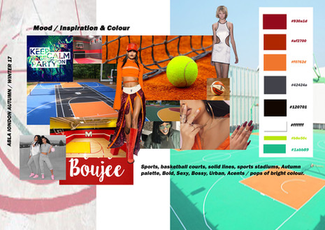 Shara Johnson Design - Abla London AW 17 / Ss18 - Mood & Colour inspiration