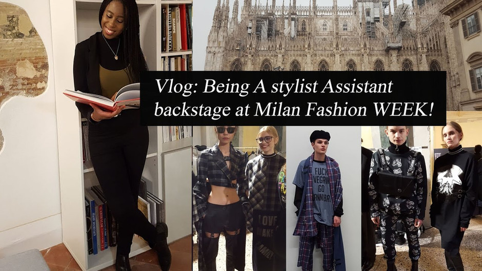 Grinko Fashion show AW17 (Milan) - Stylist Assistant