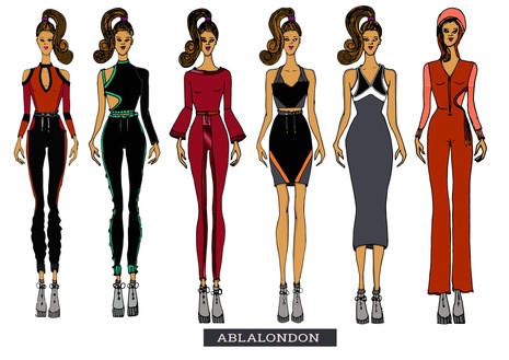 Shara Johnson Design - Abla London AW 17 / Ss18 - Line up 1