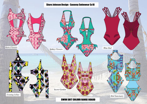 SS18 SANAVAY SWIMWEAR (Fashion Designer)