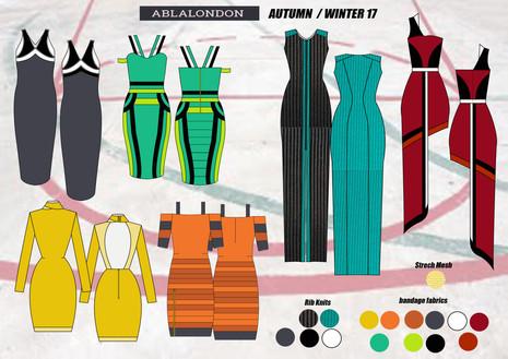 Shara Johnson Design - Abla London AW17 / Ss18 Range board 3