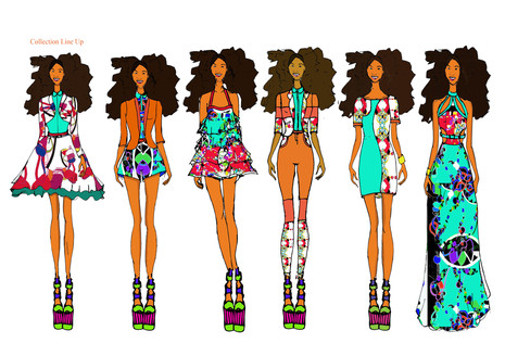 Shara Johnson - Coming To England Ss15  - Collection Line Up.jpg