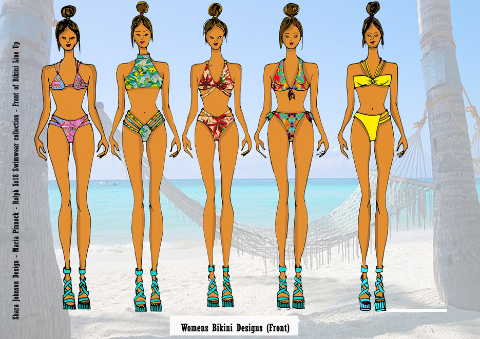 Shara Johnson Design - Sanavay Swimwear SS18 - Bikini Line Up