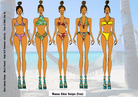 Shara Johnson Design - Sanavay Swimwear SS18 - Bikini Line Up
