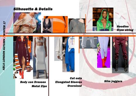 Shara Johnson Design - Abla London AW 17 / Ss18 - Silhouettes & Details