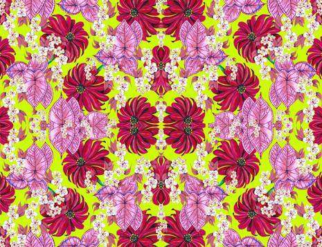 Shara Johnson Design - 'The Secret Garden' print Ss18