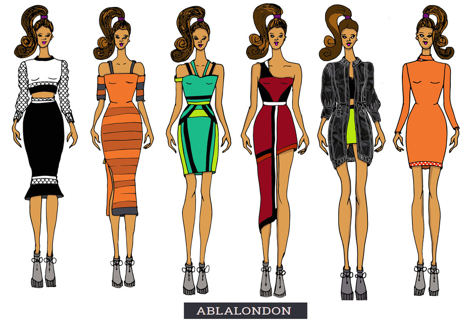 Shara Johnson Design - Abla London AW 17 / Ss18 - Line up 2