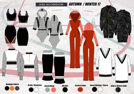 Shara Johnson Design - Abla London AW17 / Ss18 Range board 2
