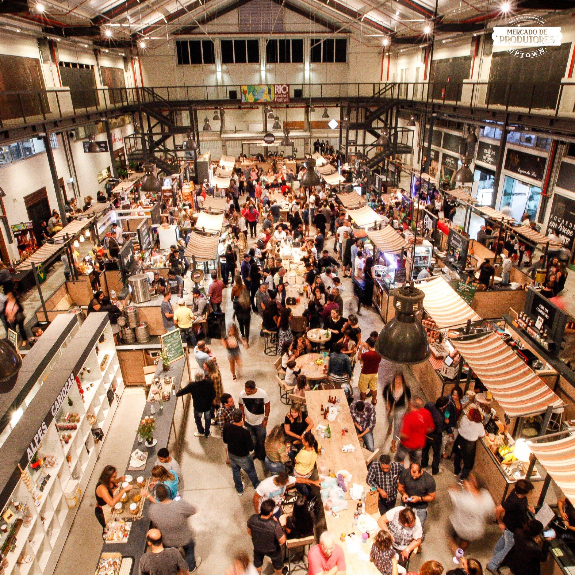 Mercado de Produtores - Uptown Barra