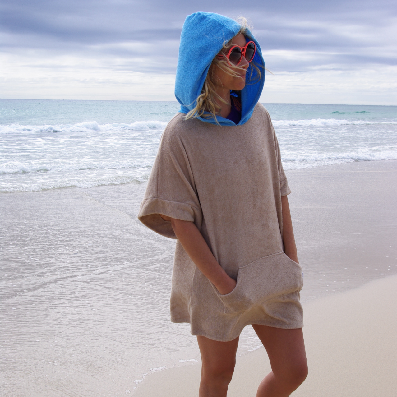 Selkie Towel Poncho Bamboo