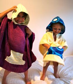 Selkie Kids Hooded Towels