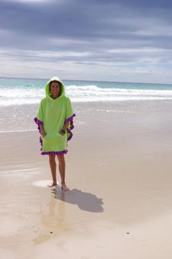 Flamenco Towel Poncho