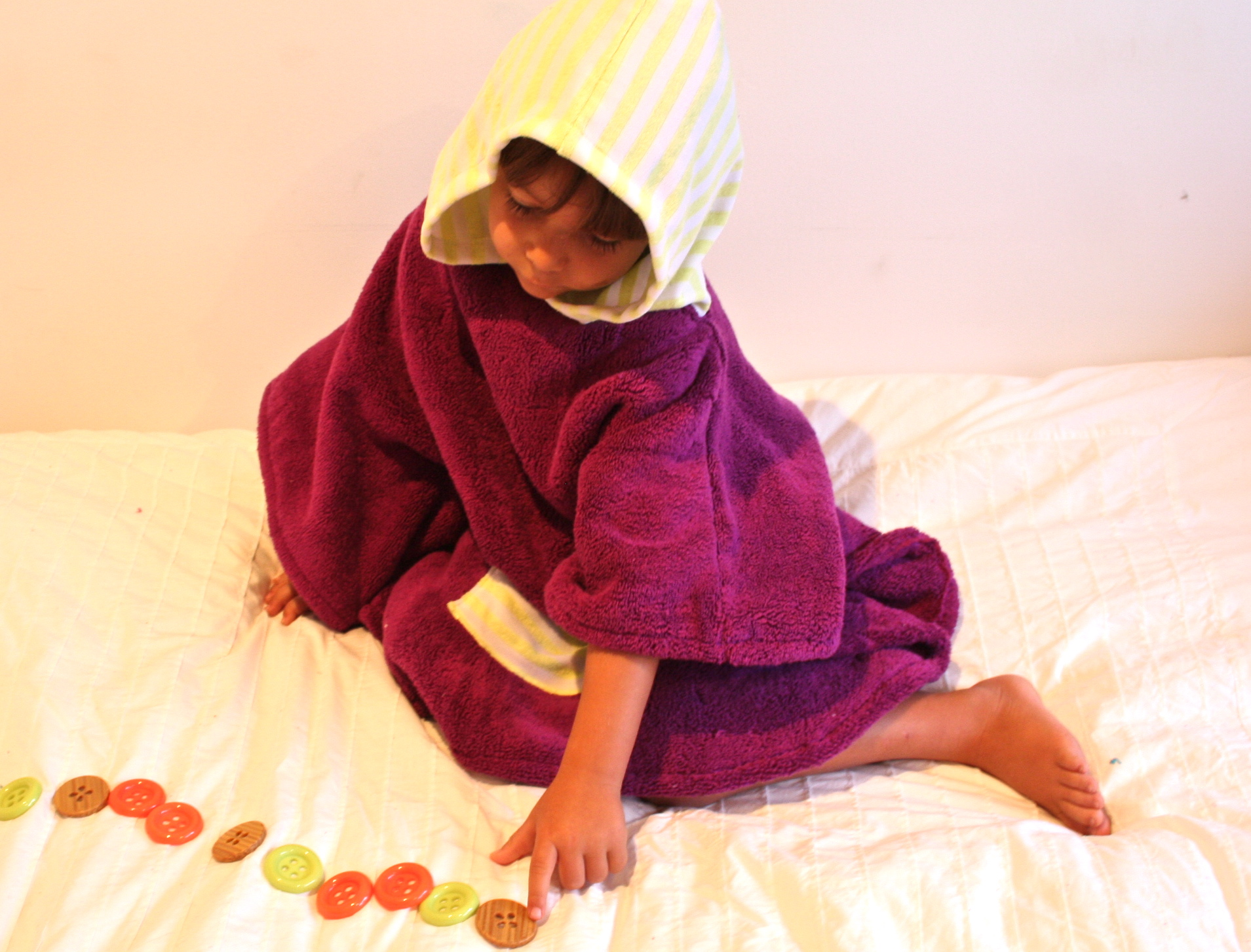 Selkie Children Cotton Poncho
