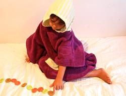 Selkie Children Cotton Poncho