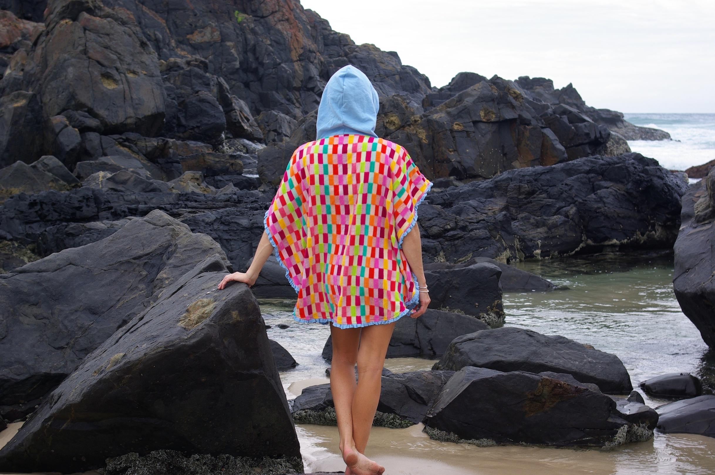 Towel Poncho by Selkie