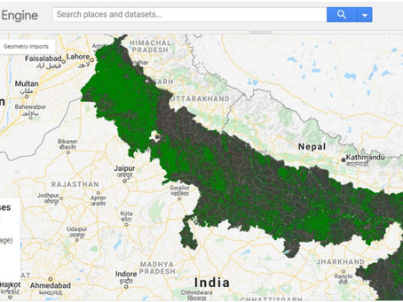 Google Earth Engine for Agri monitoring: short Demo