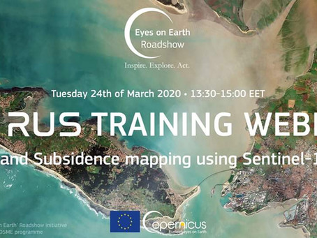 Training: Land Subsidence mapping using Sentinel-1