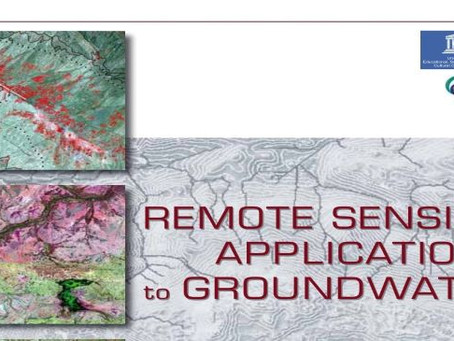 Remote sensing applications to groundwater: Book