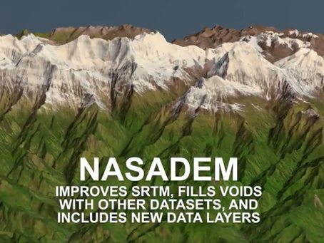 Improved SRTM DEM released by NASA at 30 meter resolution!