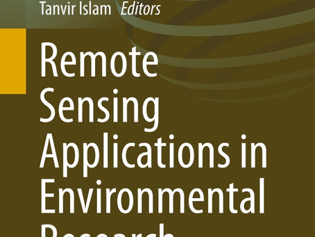 A springer book: Remote Sensing Application in Environmental Research