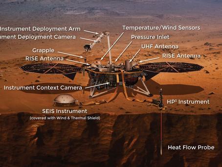 NASA's InSight Mars Lander arrives on Martian surface