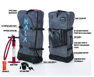 Hala Playa, Hala Gear, carbon hala playa, Bluff Cove, SUP Examiner, inflatable SUP, Quickblade paddle, quickblade kanaha, palos verdes