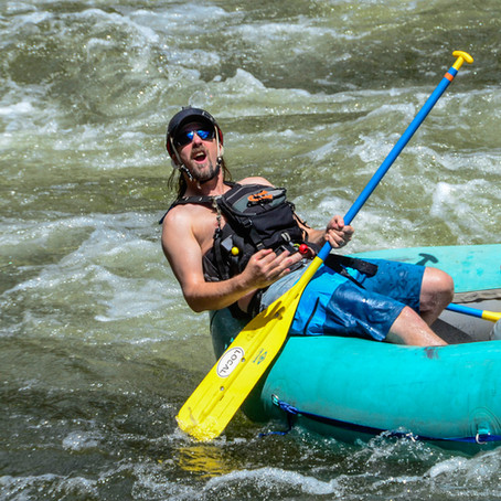 Paddling the Shoshone Section of the Colorado River