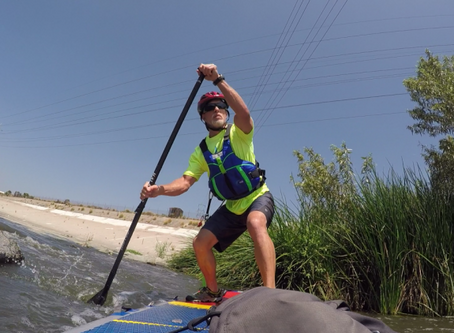 A Los Angeles River Adventure: Standup Paddling the Urban Jungle