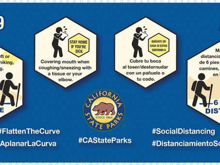 California State Parks Takes Additional Steps to Help Slow Down the Spread of COVID-19