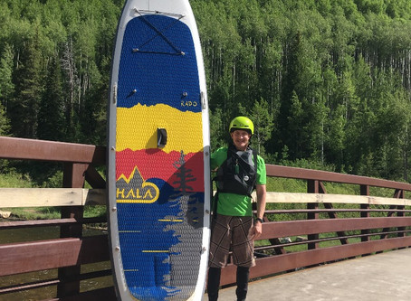 Whitewater SUPing: Lessons Learned
