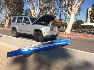 inflatable paddleboard, sea eagle, sup examiner, stand up paddling, needlenose 14, nn14