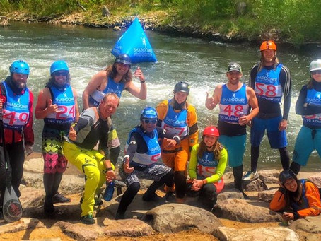 Whitewater SUP: Golden Games Downriver SUP Sprint