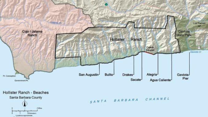 Hollister Ranch Beaches, PaddleXaminer, Paddling, Santa Barbara County, News, Coastal Access