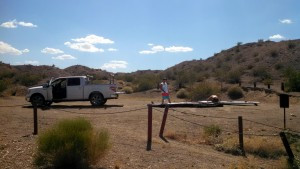 9th Island Paddlers at Area 52